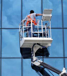 streak free window cleaning